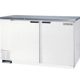 Beverage Air Mix & Bulk Milk Storage, 23.8 cu.ft., White Exterior
