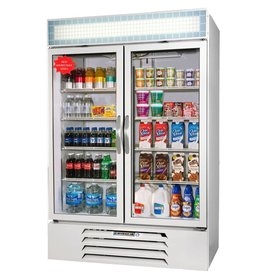 Beverage Air Refrigerated Merchaandiser, 2 Sect., 49 cu.ft.