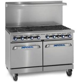 """Imperial Range, (8) Burners, (1) 26-1/2"""" Convection Oven, 48"""""""