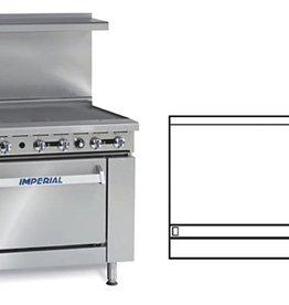 """Imperial Range, 60"""" Griddle, (2) Conv. Ovens, 60"""""""