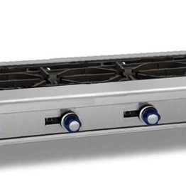 """Imperial Gas Hot Plate, (4) Burners, 48""""W"""