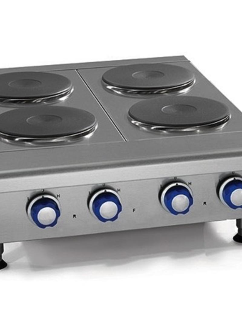 "Imperial Countertop Electric Hotplate, (4) Burners, 48""W"