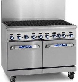 "Imperial Broiler, 48"", (1) 26-1/2 Oven, (1) Cabinet Base"