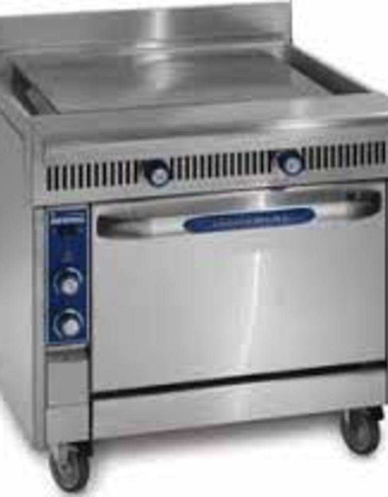 "Imperial Range, (3) 12"" Combination Burners/Hot Tops, (1) Storage Base, 36"""
