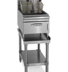 "Imperial Countertop Fryer, S/S, 15-1/5"" High"