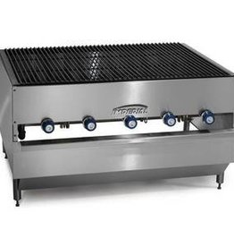 """Imperial Chicken Broiler, (5) Burners, 48""""W x 36""""D"""
