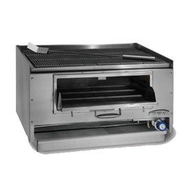 """Imperial Counter Top Mesquite Wood Broiler, 36""""W x 27""""D"""