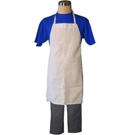 Fortune Full Apron, White