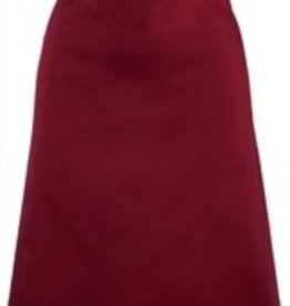 Fortune Apron, Mid-Length, Burgandy