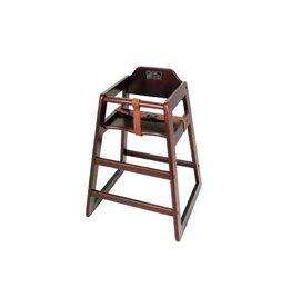 Thunder Group High Chair, Walnut