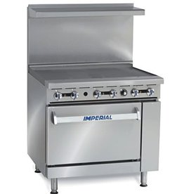 """Imperial Range, 36"""" Griddle Top, (1) 26-1/2""""W Oven, 36"""""""