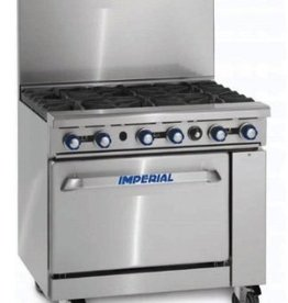 """Imperial Range, 36"""" Griddle Top, (1) 26-1/2""""W Convection Oven, 36"""""""