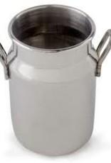 "American Metalcraft Milk Can, S/S, 2"" x 3-1/8"""