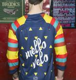 Mello Velo Enduro Jersey 3/4 Sleeve V-Neck