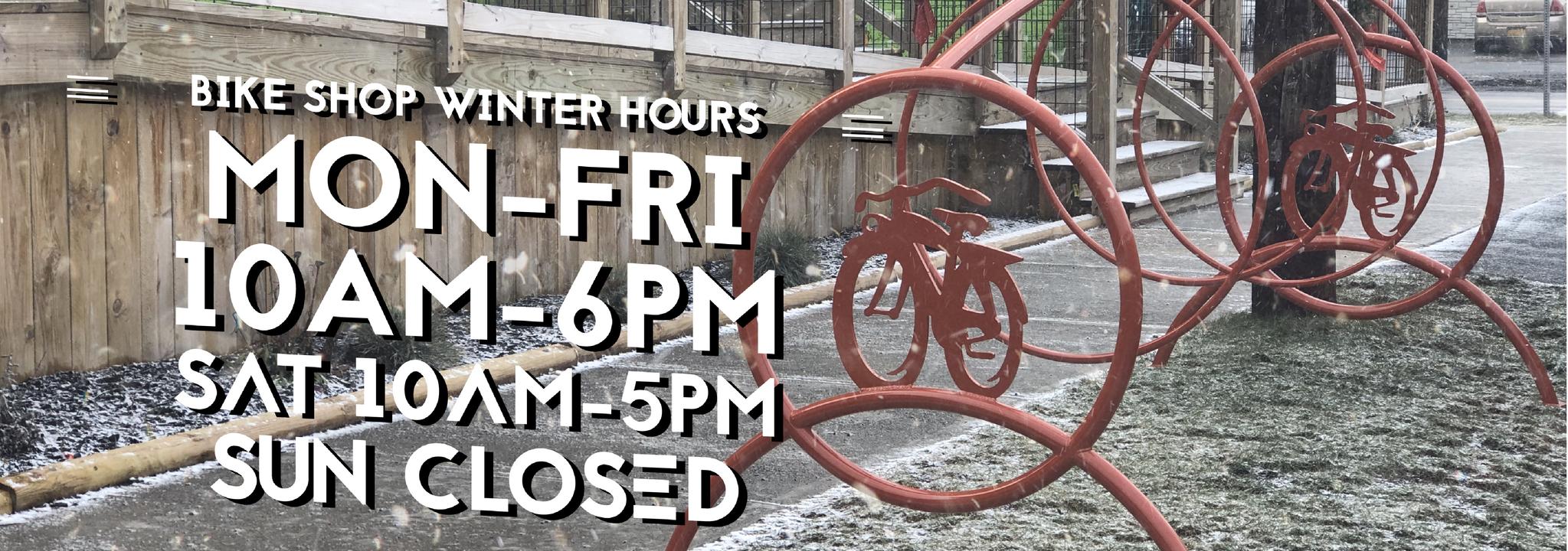 Bike Shop winter