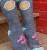 Mello Velo Cafe SockGuy Socks Wool