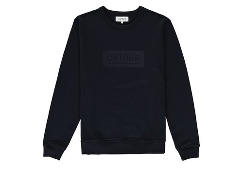 ONTOUR Window sweater men black