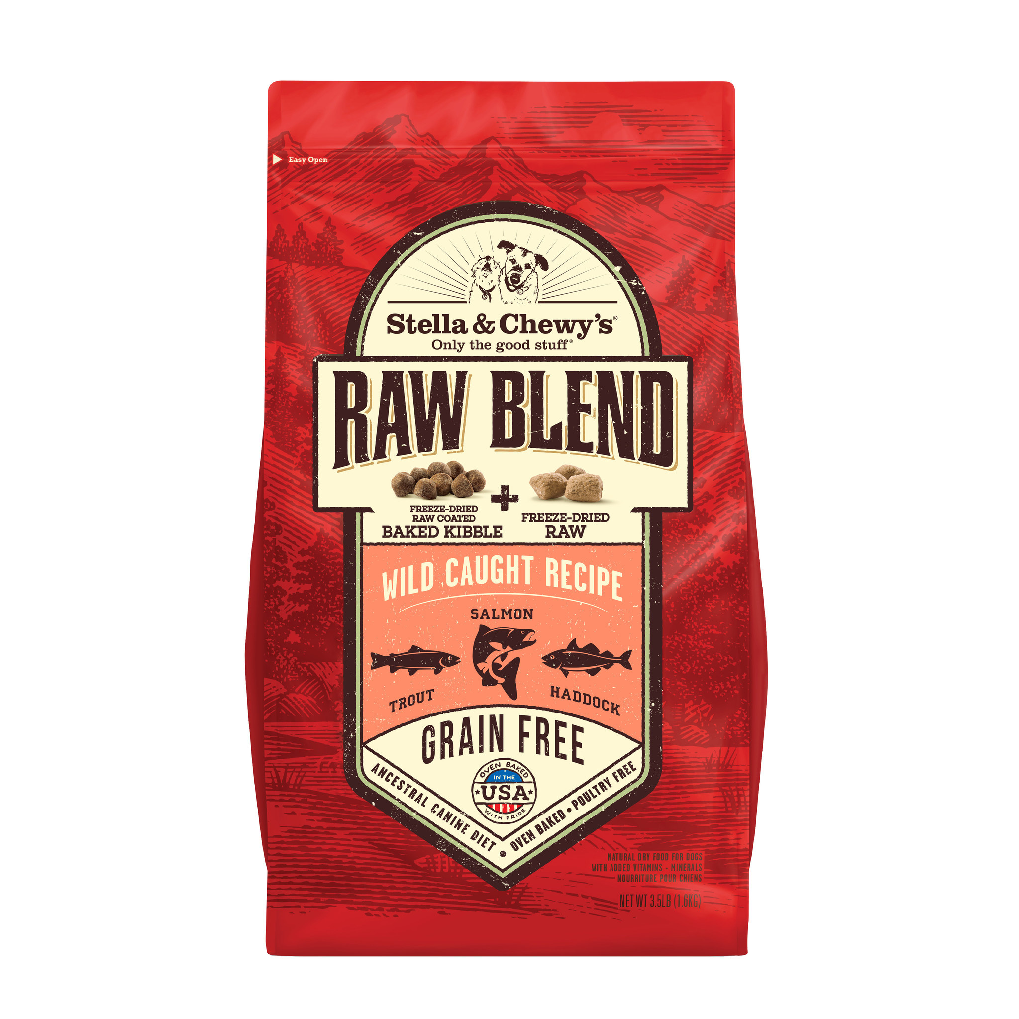 Stella & Chewys Stella & Chewy's Raw Blend Wild Caught 3.5lb