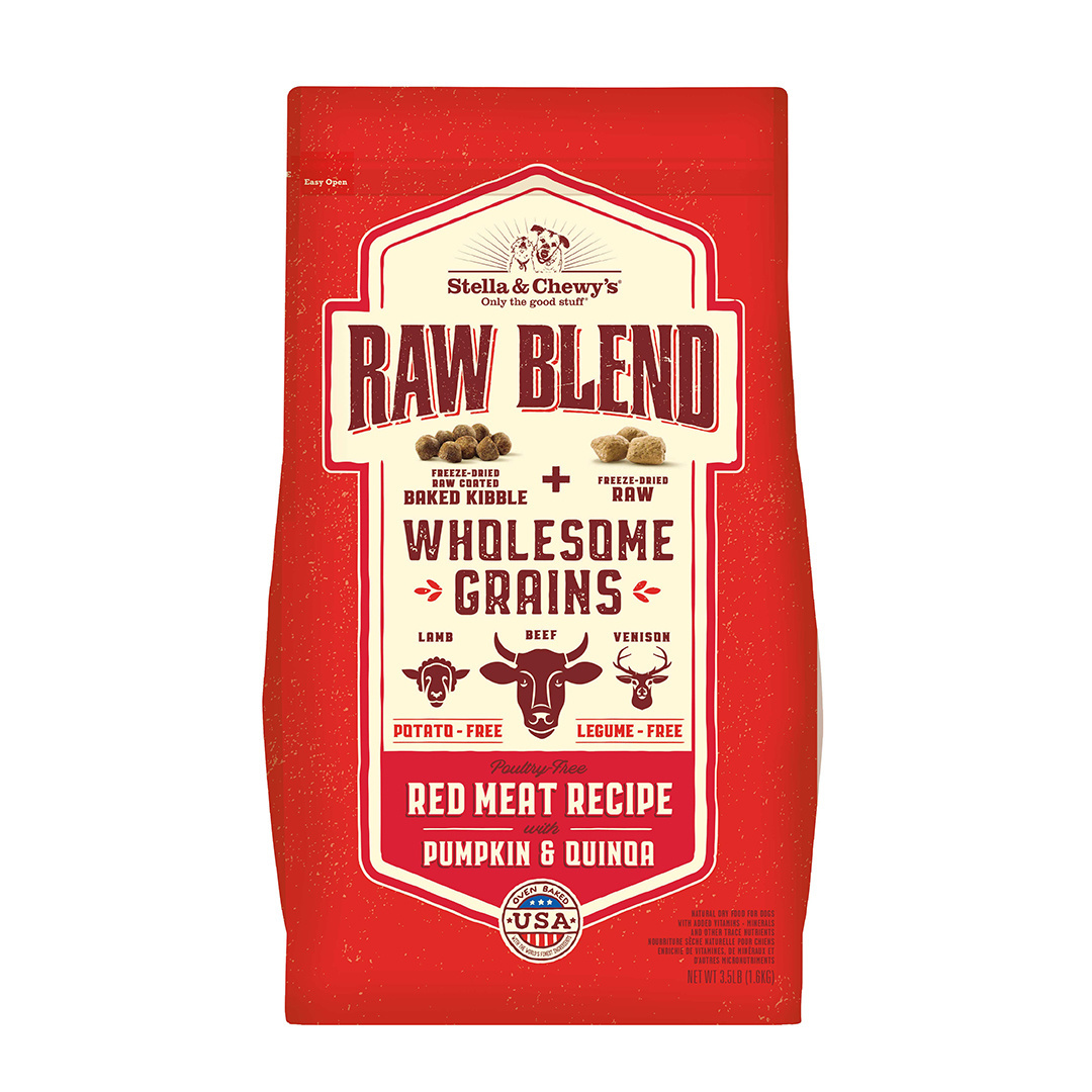 Stella & Chewys Stella & Chewy's Wholesome Grain Raw Blend Red Meat 22lb