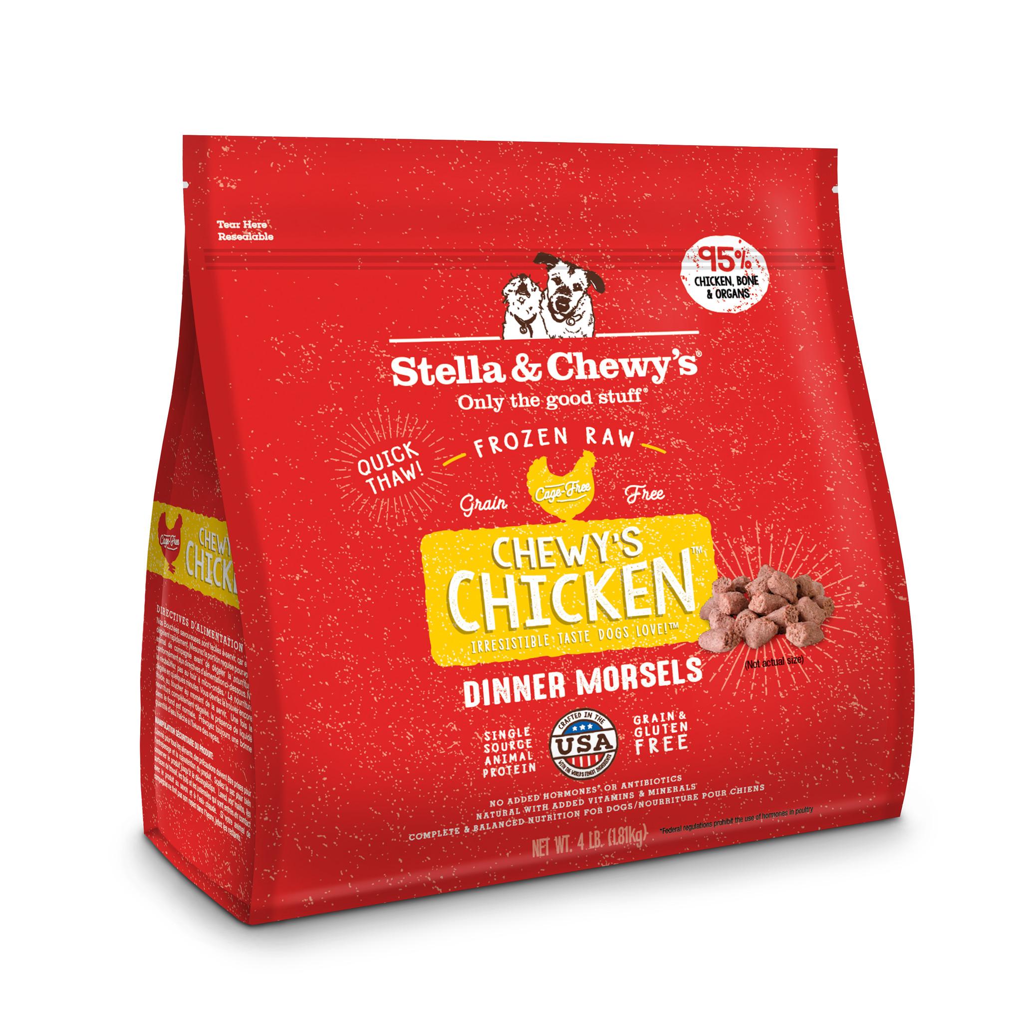 Stella & Chewys Stella & Chewy's Dog Raw Chicken Morsels 4lb