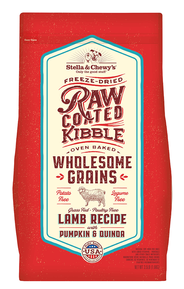 Stella & Chewys Stella & Chewy's Wholesome Grain Raw Coated Lamb 22lb