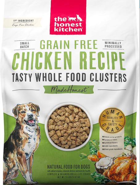 The Honest Kitchen Honest Kitchen Whole Food Clusters Chicken 20lb
