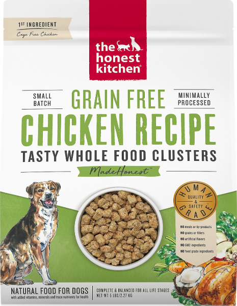 The Honest Kitchen Honest Kitchen Whole Food Clusters Chicken 5lb