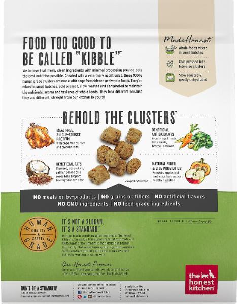 The Honest Kitchen Honest Kitchen Whole Food Clusters Chicken 5lb