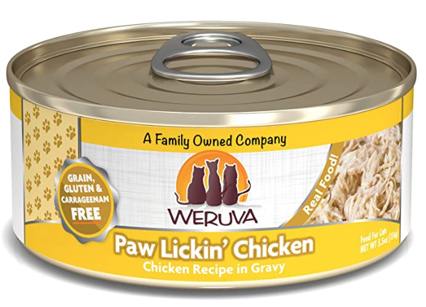 Weruva Weruva Cat Paw Lickin Chicken 5.5oz