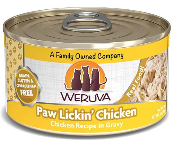 Weruva Weruva Cat Paw Lickin Chicken 3oz