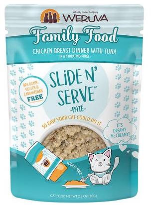 Weruva Weruva Slide N' Serve Family Food Pouch 2.8oz