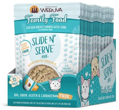 Weruva Weruva Slide N' Serve Family Food Pouch 2.8oz Case