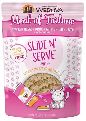 Weruva Weruva Slide N' Serve Meal Of Fortune Pouch 2.8oz