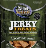 Nutrisource Nutrisource Jerky Woodlands Dog Treat 4oz
