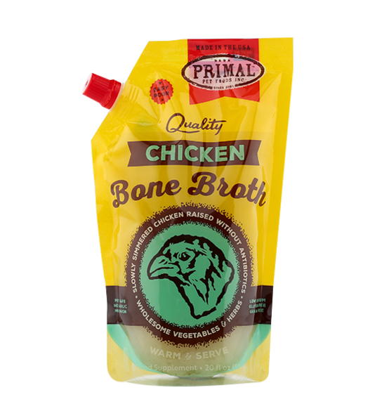 Primal Primal Raw Chicken Bone Broth 20oz