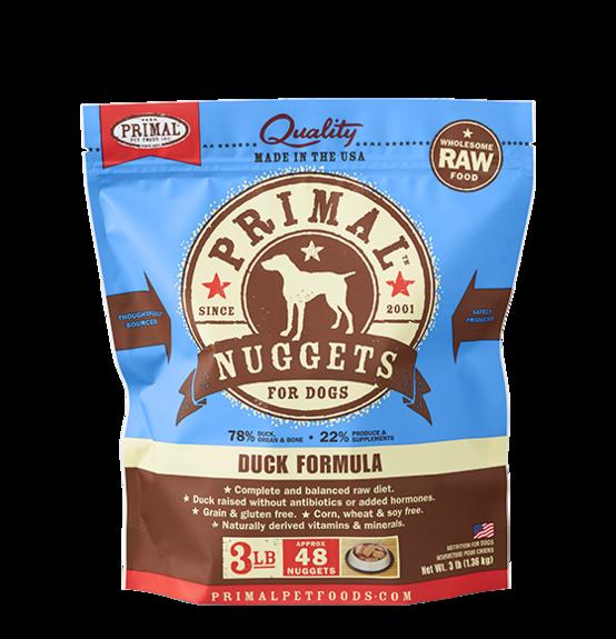 Primal Primal Raw Dog Duck 3lb