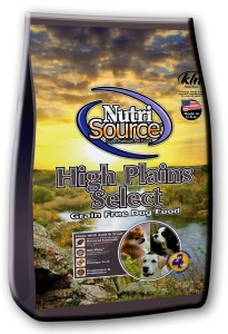 Nutrisource NutriSource Grain Free High Plains Select for Dogs - 5lb
