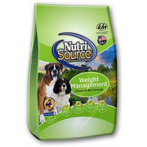 Nutrisource NutriSource Weight Management Chicken & Rice for Dogs - 18lbs