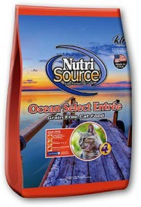 Nutrisource NutriSource Grain Free Ocean Select for Cats - 6.6lb