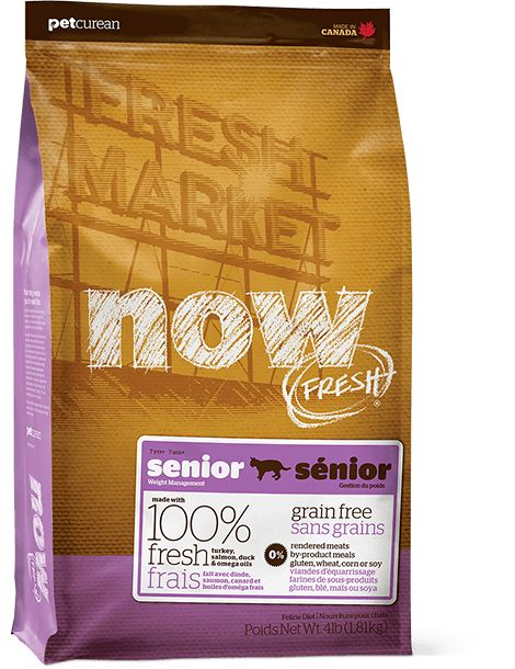 Now Cat Fresh Grain Free Senior 4lb