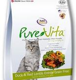 Pure Vita PureVita Grain Free Duck & Red Lentils Entree for Cats- 15lbs