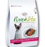Pure Vita PureVita Grain Free Salmon & Peas Entree for Cats- 6.6lbs