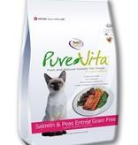 Pure Vita PureVita Grain Free Salmon & Peas Entree for Cats- 2lb