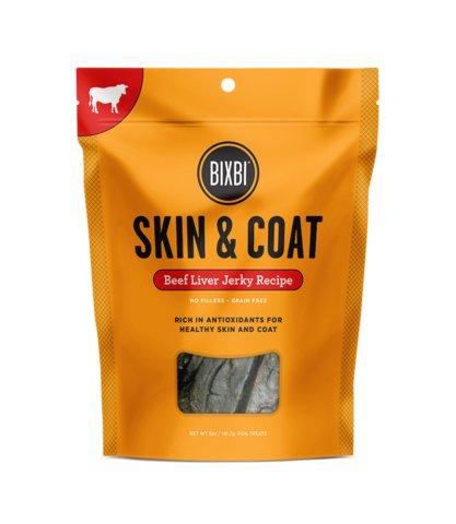 Bixbi Bixbi Skin & Coat Beef Liver Jerky 12oz