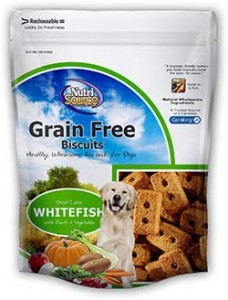 Nutrisource Nutrisource Whitefish Biscuits 14oz