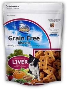 Nutrisource Nutrisource Liver Biscuits 14oz