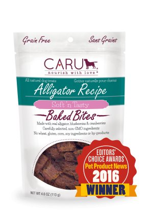 CARU Caru Alligator Bites 4oz