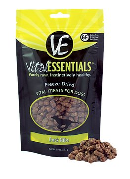 Vital Essentials Vital Essentials Duck Nibs 2oz