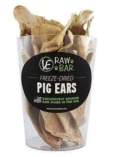 Vital Essentials Vital Essentials Freeze-Dried Pig Ears Case