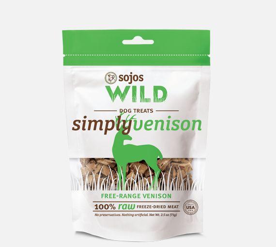 Sojos Sojos Simply Wild Venison 2.5oz